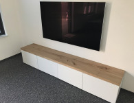 Iepen TV meubel van Exclusive Woods 1